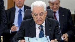 Sergio Mattarella al Csm: