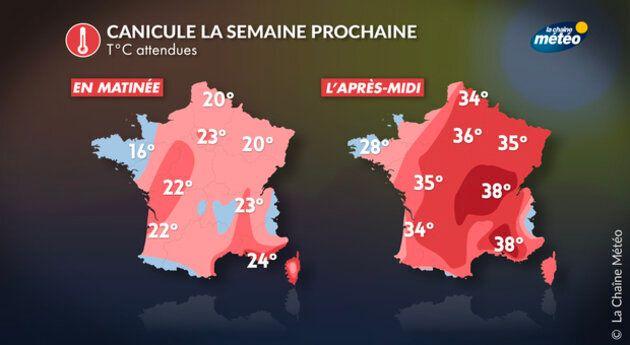 Risque de canicule en France, une vague de chaleur va s'abattre sur le