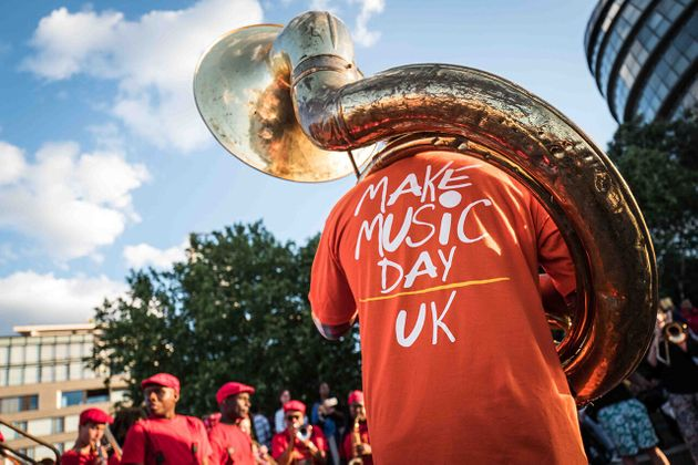Le Music Day au Royaume-Uni, le 21 juin