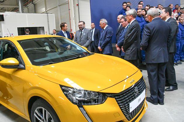Le roi Mohammed VI inaugure l'usine PSA à