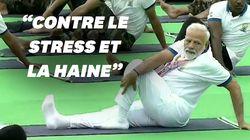 La Journée internationale du yoga célébrée par le premier ministre
