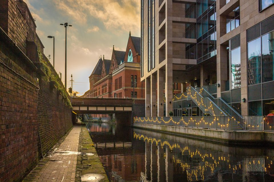 Charlie's body was found in the Rochdale canal, which runs through Manchester city
