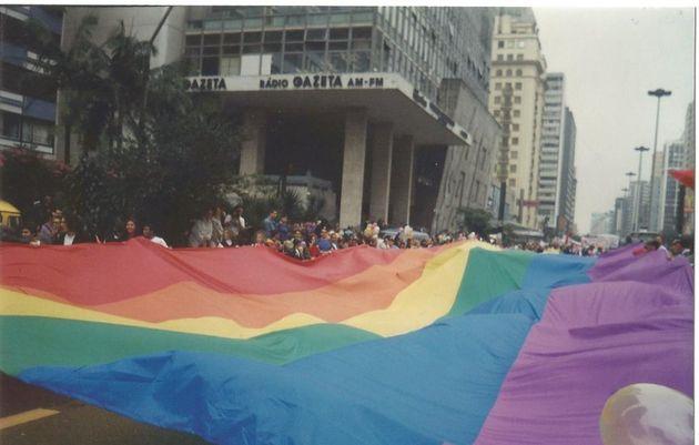 Primeira Parada do Orgulho LGBT aconteceu em 1995, já na Avenida