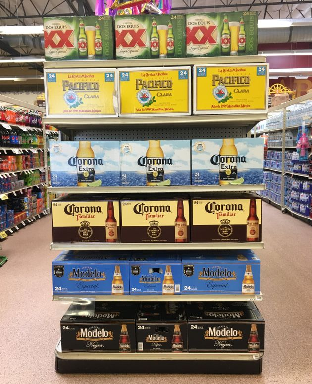 A tariff placed on Mexican beers would hit U.S. customers squarely in the
