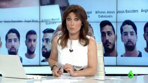 Helena Resano, presentadora del informativo de las 14:00 horas de