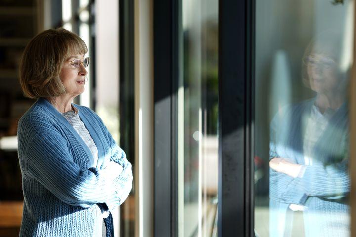 Meryl Streep as Mary Louise Wright.