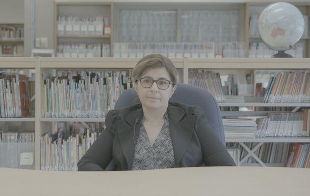 Aline Markarian, mère de deux enfants fréquentant l'école arménienne Sourp