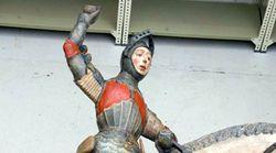 EFE Concluye la restauración del San Jorge, el llamado 'Ecce Homo' de