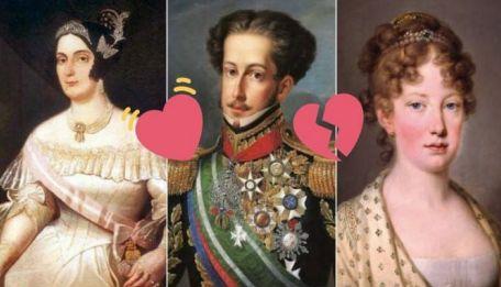 Marquesa de Santos, Dom Pedro e Maria Leopoldina: triângulo amoroso famoso da História brasileira.
