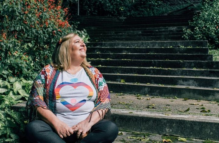 Maju Giorgi is the president of Brazil's Mothers of Diversity, a group combating prejudice and homophobia against LGBTQ youth