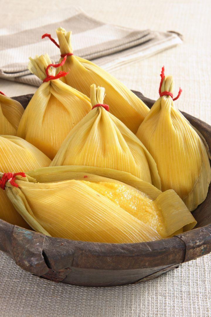 Uma das particularidades da pamonha de Piracicaba é seu formato de gota.