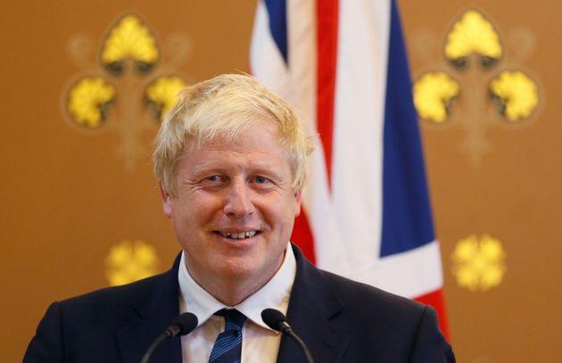 Boris Johnson, hace dos años, cuando aún ejercía como ministro de Exteriores de...