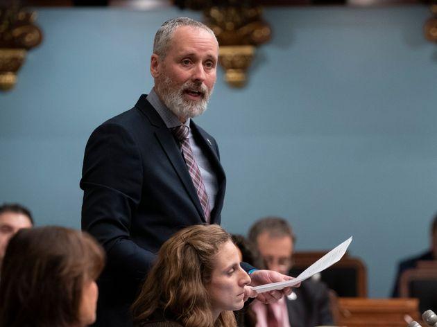 Le porte-parole de Québec solidaire en matière de Finances, Vincent