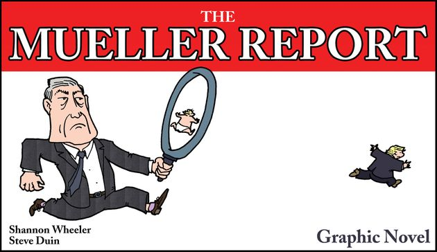 Comic Publisher Turning Mueller Report Into Graphic