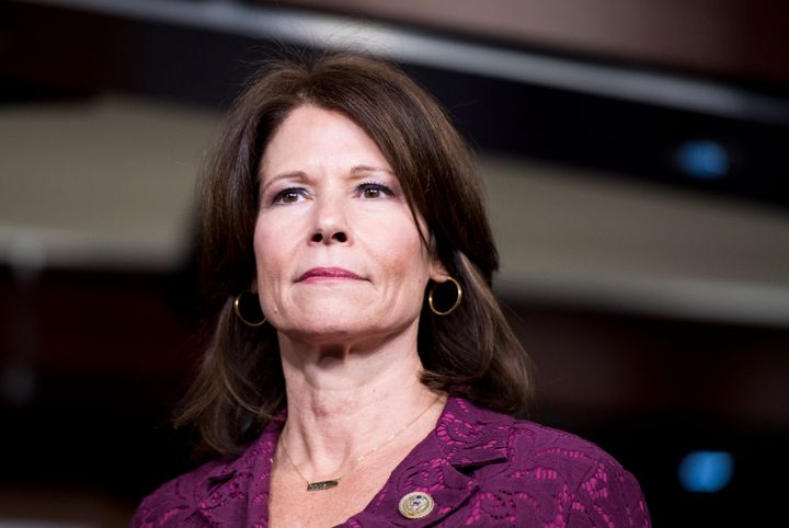 Rep. Cheri Bustos (D-Ill.) has earned progressive enmity in her capacity as head of House Democrats' campaign arm. Roots Action is calling for a primary against her.