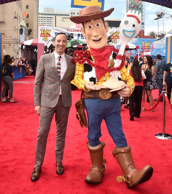 "Tony Hale at the ""Toy Story 4"" premiere on June 11 in Los Angeles."