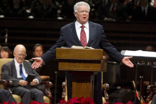 Paige Patterson speaks at a meeting on Dec. 1, 2011. A woman who said Patterson threatened and humiliated...