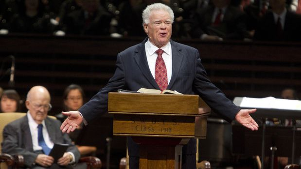 Paige Patterson on December 1, 2011. A woman who said she was threatened and humiliated after reporting multiple rapes to Patterson, has filed a lawsuit against the former Southern Baptist Convention president. (Joyce Marshall/Fort Worth Star-Telegram/TNS via Getty Images)