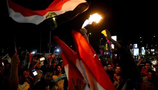 Les Egyptiens célèbrent leur première