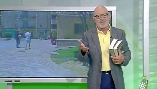 Jesús Vigorra, periodista de Canal