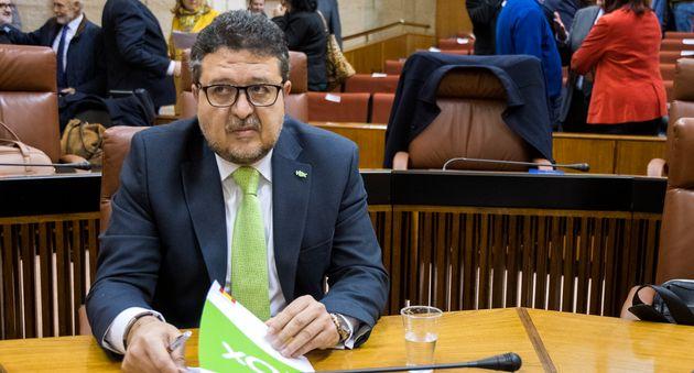 Francisco Serrano, portavoz de la formación ultraderechista Vox en