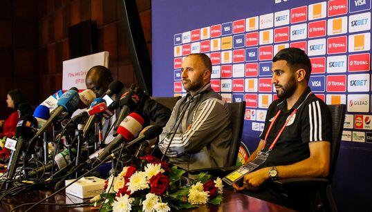 """Mahrez : """"Nous sommes prêts pour la"""
