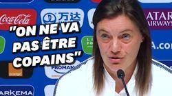 Avant France-Brésil, Corinne Diacre douche l'enthousiasme de la