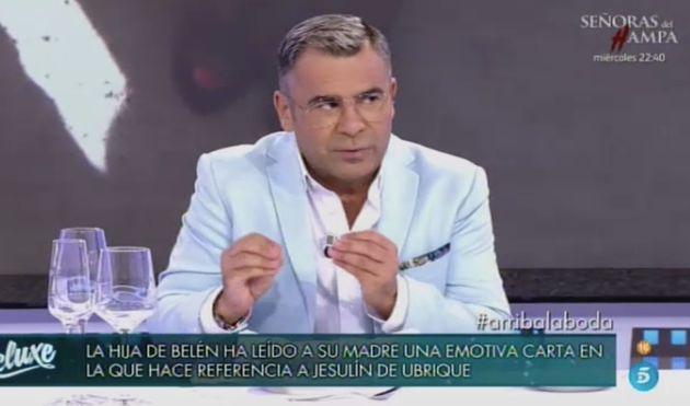 Jorge Javier Vázquez, presentador de 'Sábado