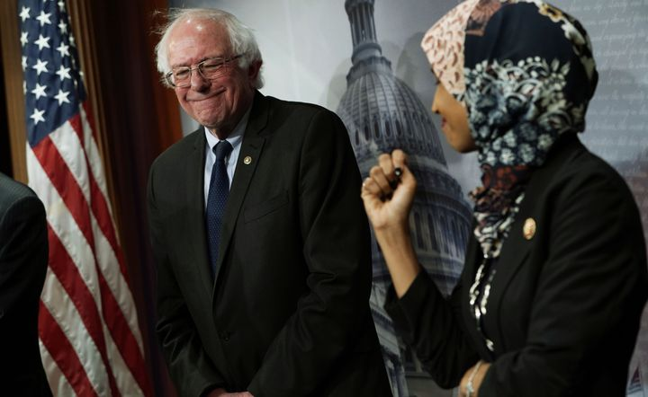 Sen. Bernie Sanders (I-Vt.) and Rep. Ilhan Omar (D-Minn.) are working together on new legislation to make college affordable.