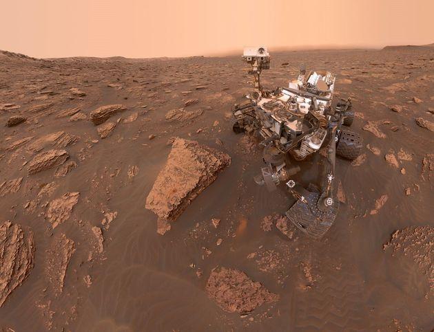Sur Mars, des traces de gaz pouvant correspondre à un signe de vie auraient été