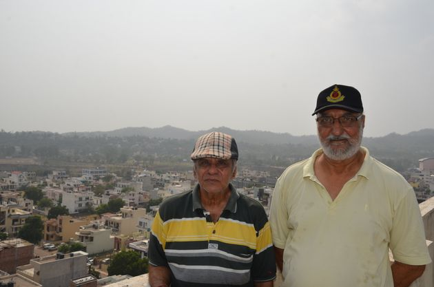 Many retired defence personnels like Col B S Rangi (R) and Lt. Col N R Sharma (L) can't to understand...