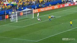 Le but complètement gag du Brésil à la Copa
