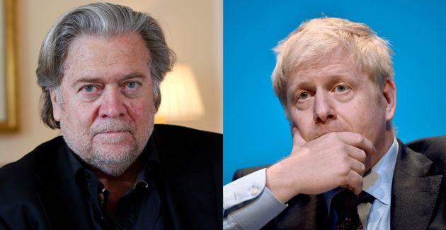 Boris Johnson's Woes Escalate As Video Emerges Of Steve Bannon Saying He Helped Write Speech
