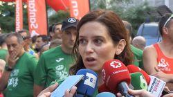 Díaz Ayuso (PP), sobre Serrano (Vox):