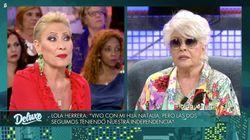El corte de Lola Herrera a Rosa Benito tras su gran metedura de