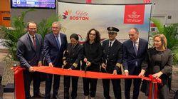 La RAM inaugure sa liaison directe Casablanca-Boston, sa quatrième ligne vers les