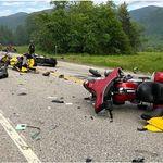 Εφτά νεκροί μοτοσικλετιστές σε σύγκρουση με αγροτικό