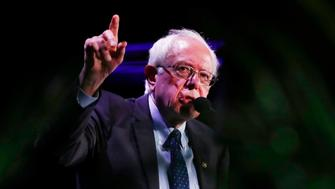 Democratic presidential candidate Sen. Bernie Sanders, I-Vt.,speaks during a forum on Friday, June 21, 2019, in Miami. (AP Photo/Brynn Anderson)
