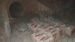 Zagora: Saisie de 600kg de chira retrouvés dans un canal d'eau