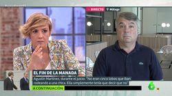 La pregunta de Cristina Pardo que ha dejado con esta cara al abogado de La