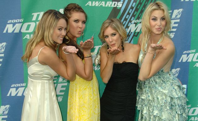Lauren Conrad, Audrina Patridge, Heidi Montag and Whitney Port, stars of of