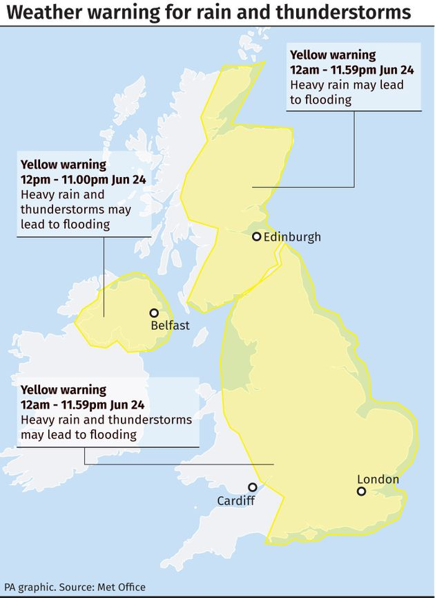 UK Weather: Britain To Bask In Heatwave - But Only After