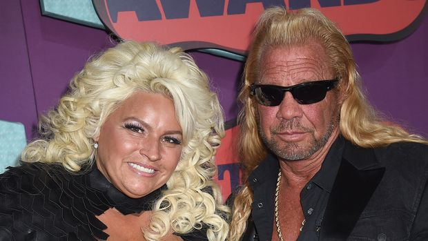 NASHVILLE, TN - JUNE 04:  Beth Chapman and  Duane Chapman attend the 2014 CMT Music awards at the Bridgestone Arena on June 4, 2014 in Nashville, Tennessee.  (Photo by Jeff Kravitz/FilmMagic)