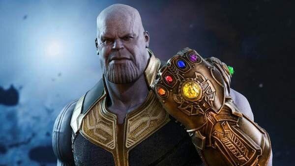Thanos, en un fotograma de la película 'Los Vengadores: