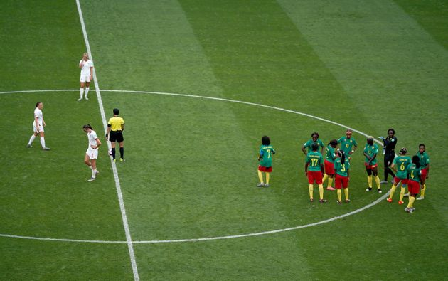 England V Cameroon: Big Moments From Controversial World Cup Win For