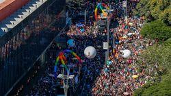 A 23ª Parada do Orgulho LGBT de São Paulo em