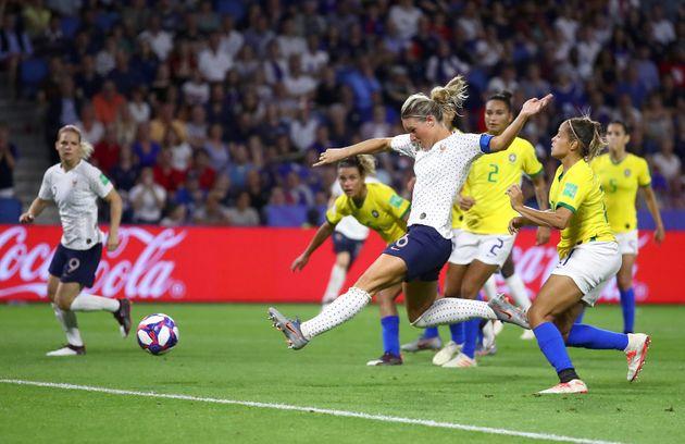 France - Brésil: les Bleues se qualifient pour les quarts de