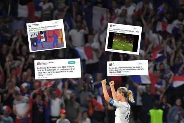 France - Brésil : le but d'Amandine Henry a rappelé de bons