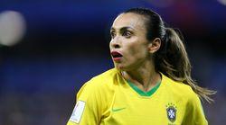 Marta dá o recado após eliminação da Copa: 'O futebol feminino depende de