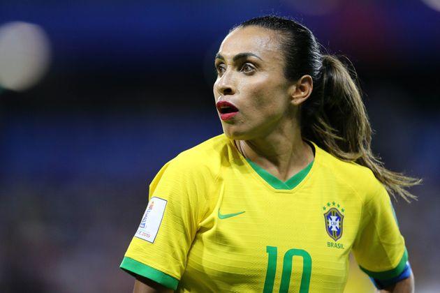Nesta Copa, Marta bateu recorde e agora ocupa o título de maior artilheira das Copas do mundo...